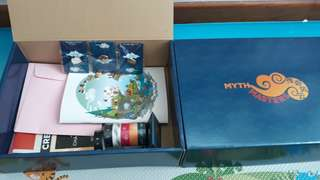NEW MYTH MASTERS BOX AND COMPETITION PRIZES