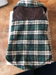 Adorable dog flannel small