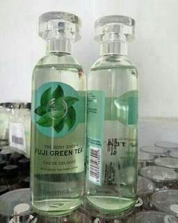 The body shop fuji green tea edc eau de cologne