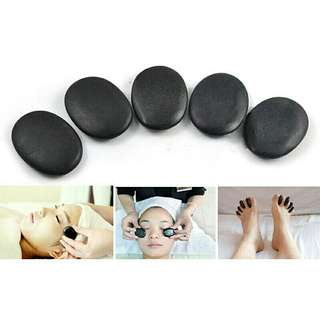 Batu Basalt 10 pcs Terapi Pijat Natural Energy SPA massage