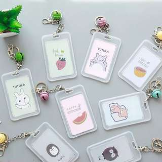 🚚 Cute transparent card holder