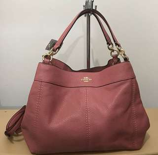 Coach Lexy Sz 26/32x22 in Vintage Pink