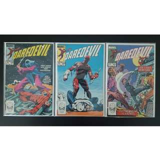 Daredevil #199,#200,201 (1st Series 1983) Set of 3- DD by Legendary John Bryne! Vs Bullseye in a Final Confrontation! Guest-Starring Black Widow!