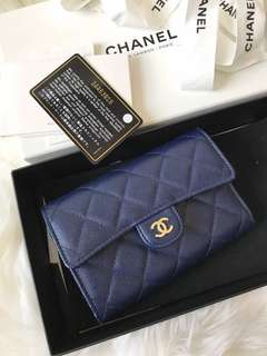 Chanel medium flap wallet