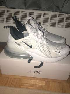 Air Max 270 White Size 11