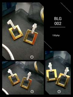 Imported Non-tarnishing Stainless Steel Accessories (Earrings)