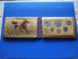 Singapore Coin set year of 🐴 1978