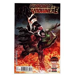 Marvel Guardians of Knowhere #3 SPACE VENOM App
