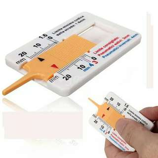 Alat Ukur Ketebalan Ban Manual - Manual Tyre Tread Depth Gauge