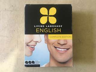 Living Language English Lessons Books