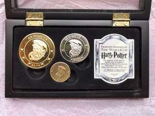Harry Potter Gringotts Bank Coins Set