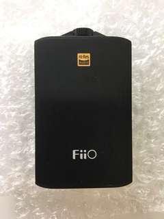 Fiio A3 Portable Headphone Amplifier with free E06