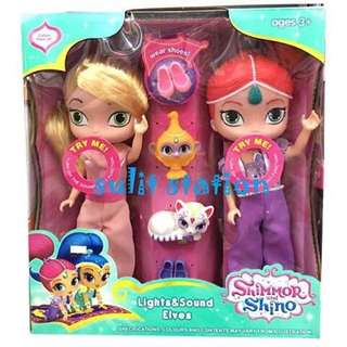 SINGING SHIMMER SHINES DOLL TOY FIGURE