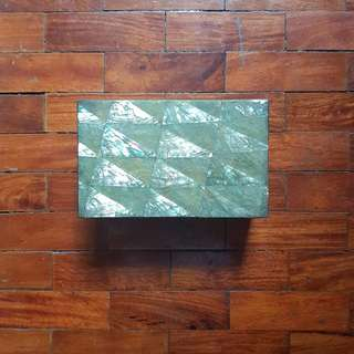 Capiz Mother of Pearl Jewelry Box