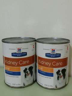 K/d dog canned food