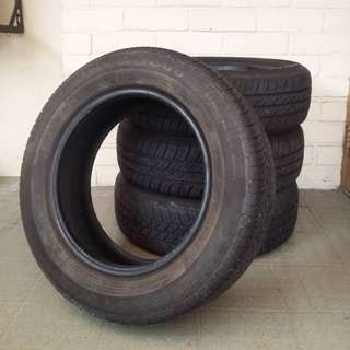 USED Silverstone Powerblitz 1800 & Viking City Tech Tyre