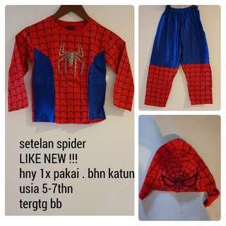 SETELAN SPIDER