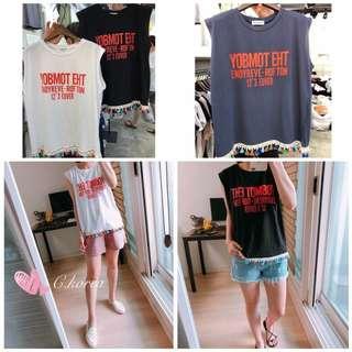 ✨[韓國採購小流蘇夏日背心]  Korea purchase small tassel summer vest