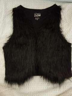 fur fashionable vest