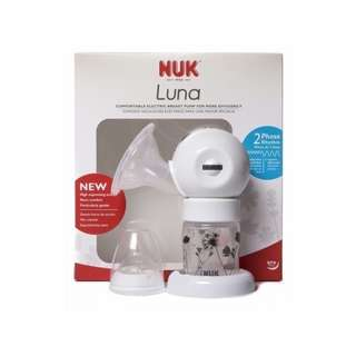 NEW NUK Luna Portable Electric Breast Pump