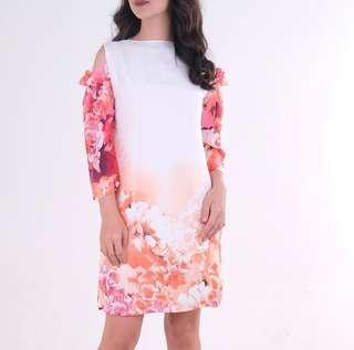HTP Floral Senepa Dress