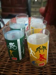 McDonald's Olympics 1996 Glass Collection