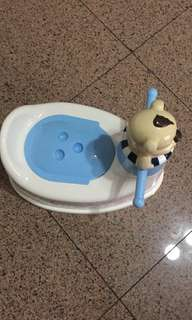 Potty plus bath tub