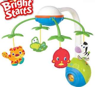 Brught starts musical toy for crib or cot