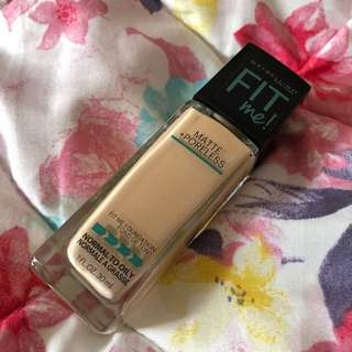 Maybelline Fit Me Foundation in 120 Classic Ivory (free normal mail)