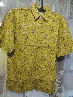 TURUN hrg Kemeja batik