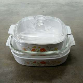 Corningware Wild Flower (PRICE REDUCED!)