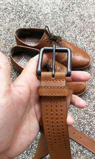 Brogue + belt combo