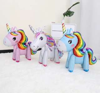 Unicorn balloon 4D / unicorn pet