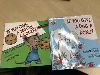 Children booksx2 by Laura Numeroff