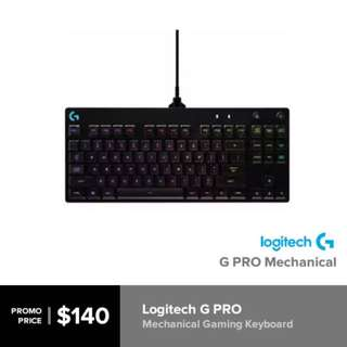 BNIB Sealed Logitech G PRO Mechanical Gaming Keyboard