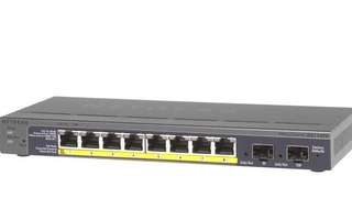 Netgear GS110TP (ProSafe 8-Port Gigabit Smart Switch with PoE and 2 fiber SFP ports)