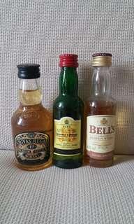 芝華士, J&B, Bell`s 酒辨3支