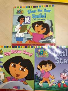 Children books Dora the explorerx3