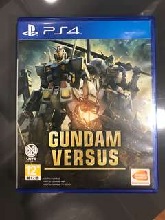 PS4 Gundam Versus Used R3 CHINESE