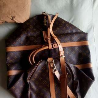 LV authentic kepall 55