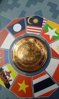 malaysia Coin card 马来西亚纪念币