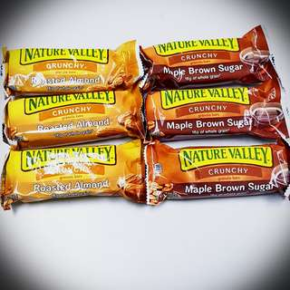 Nature valley energy bar