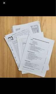 GP h1 reading materials