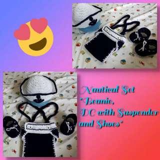 Crochet Nautical Set 😊❤😍