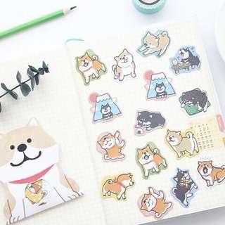 [PO] shiba inu sticker packs