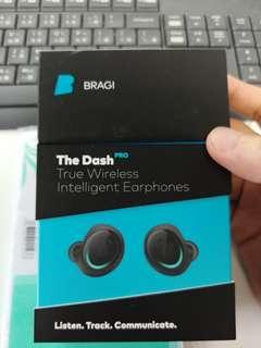 二手 Bragi The Dash Pro 真無線藍牙耳機 九成九新 行有保至18年10月 有盒 not jaybird jabra iconx sol b&O bose
