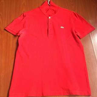 Preloved Auth Lacoste Polo Shirt
