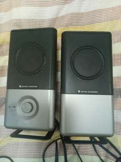 Speakers amplified system 230-240v/50Hz/0.3A