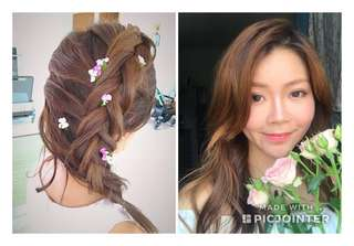 Makeup and hair for prewedding/ ROM/ Bride's mom
