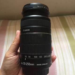 Lensa canon 55-250mm